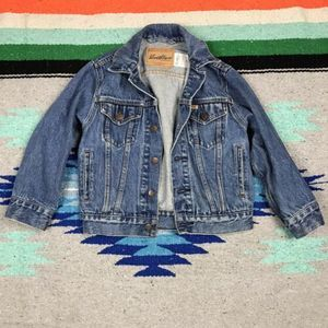Levi's Kids Jean Denim Trucker Jacket Sz. S